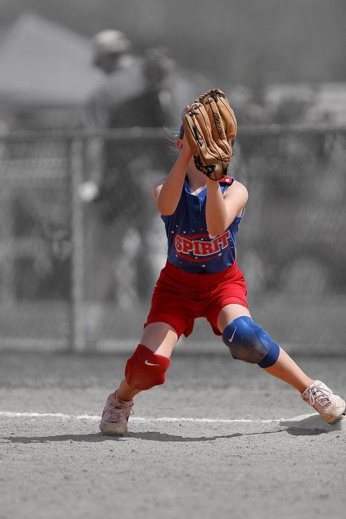 softball player female