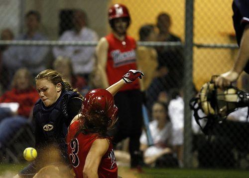 softball catcher female