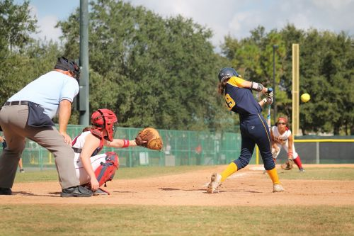 softball catcher game