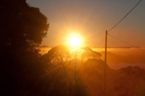 sol nature sunset