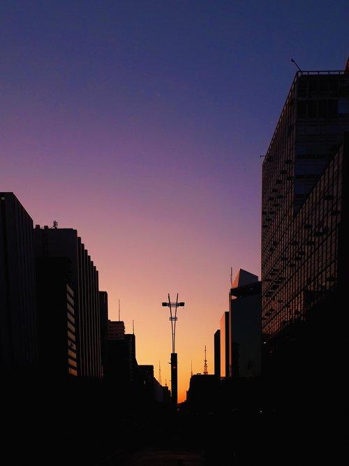 sol  sunset  são paulo