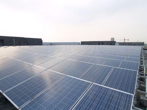 solar roof power station