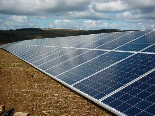 solar solar panels solar farm
