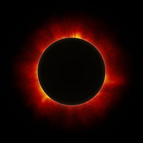 solar eclipse sun moon