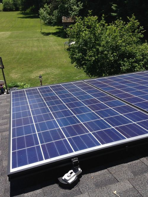 solar panel roof energy