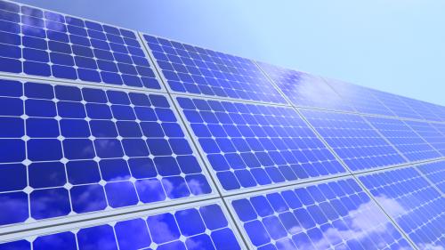 solar panel sun electricity