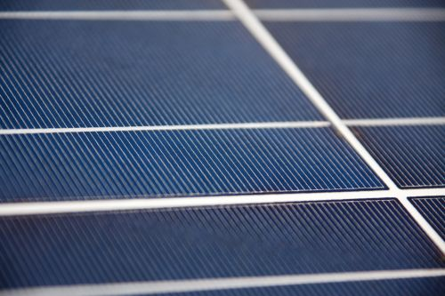 Solar Panel Macro
