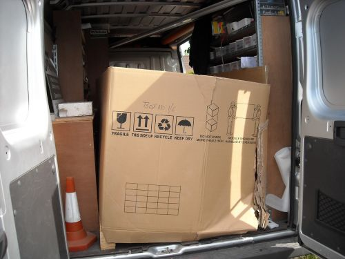 solar panels packing cardboard