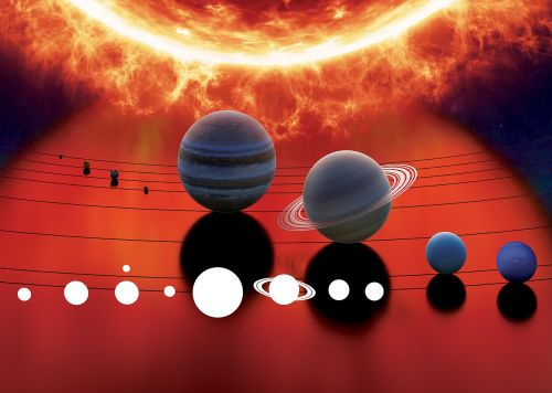 solar system space planet