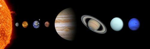 solar system sun mercury