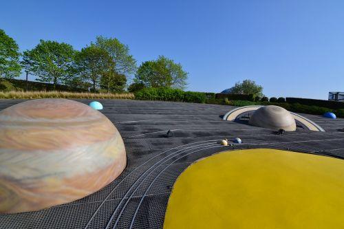 solar system planets sun