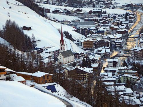solden austria snow