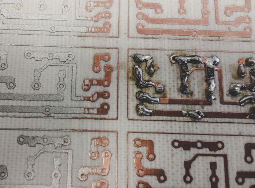 soldering pcb electronics