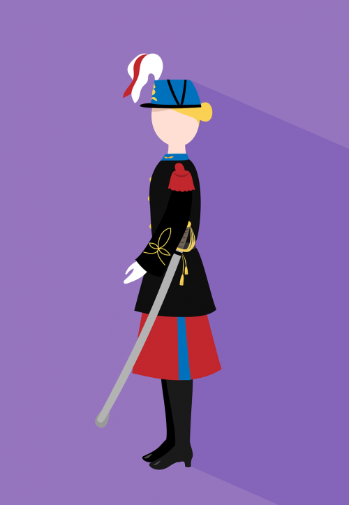 soldier woman officer