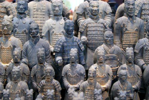 soldier terracotta qin shi huang
