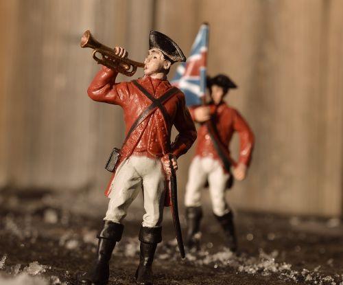 soldier bugle british