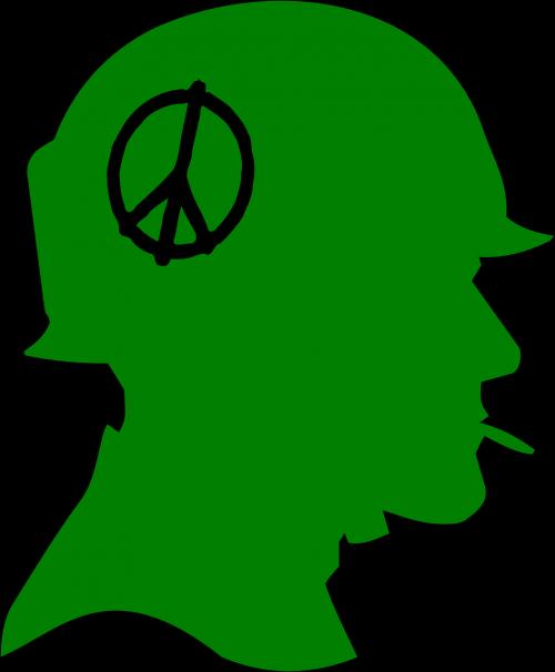 soldier profile peace