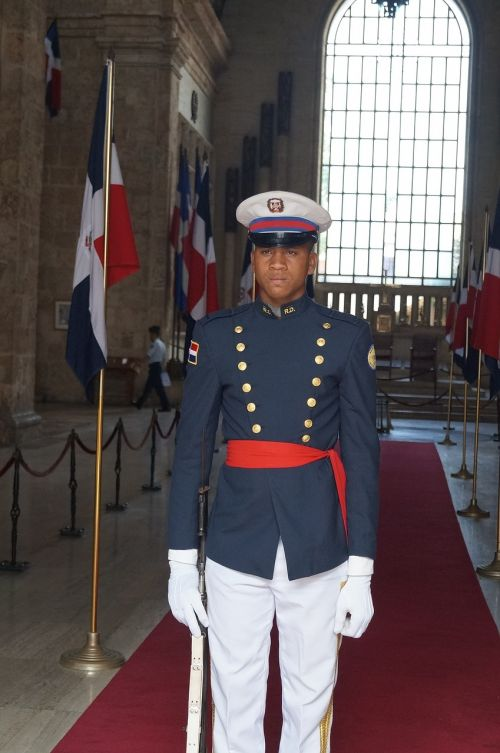 soldier dominican republic guard