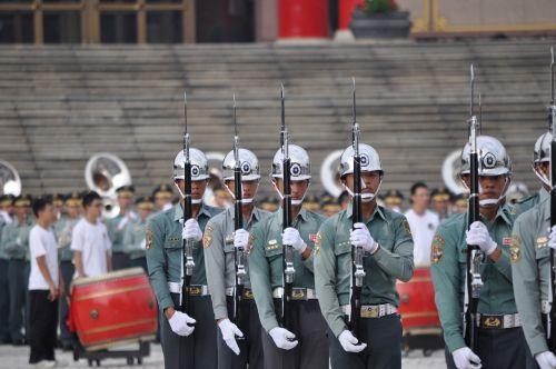 soldier honor guard taiwan