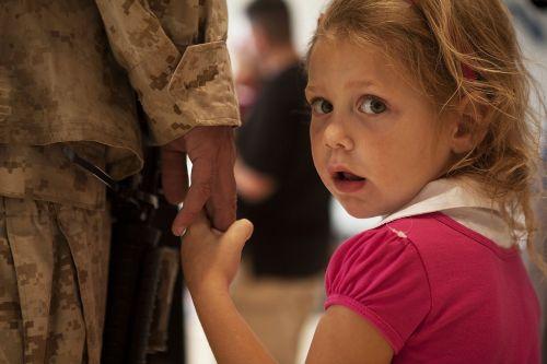 soldier daughter child