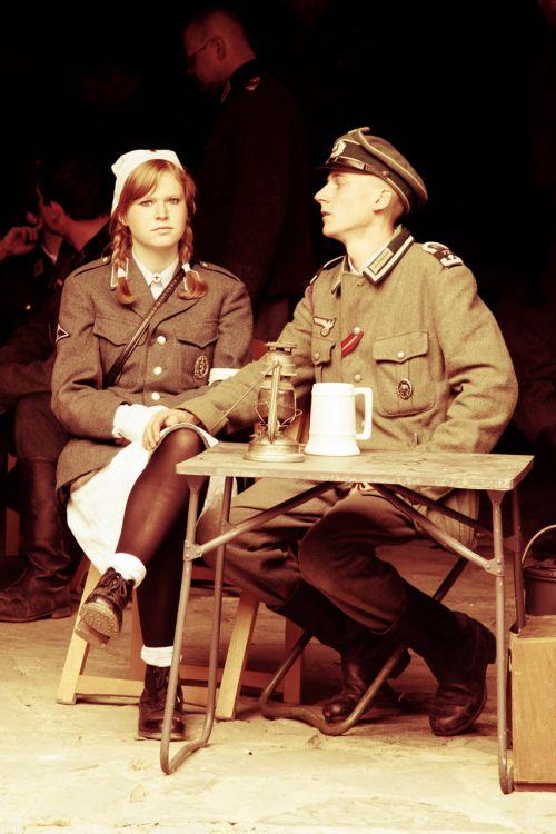 Soldier And Nurse