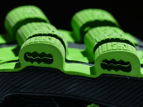 sole green rubber lining