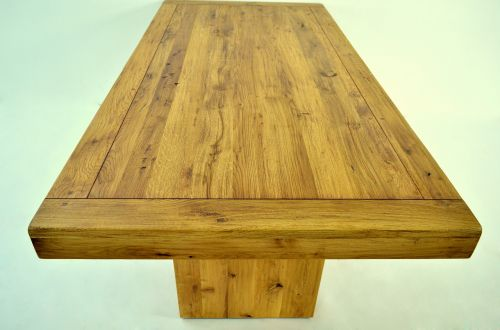 solid oak tabletop