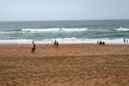 Some Beach Goers