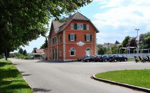 sontheim railway station brenz railway