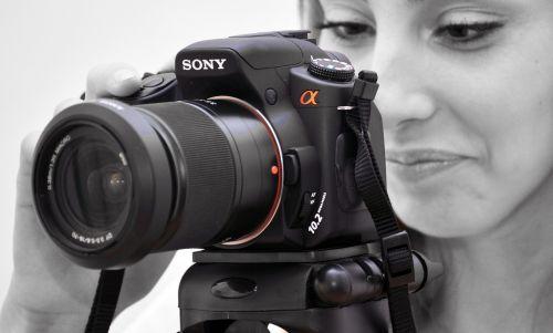sony photographer camera