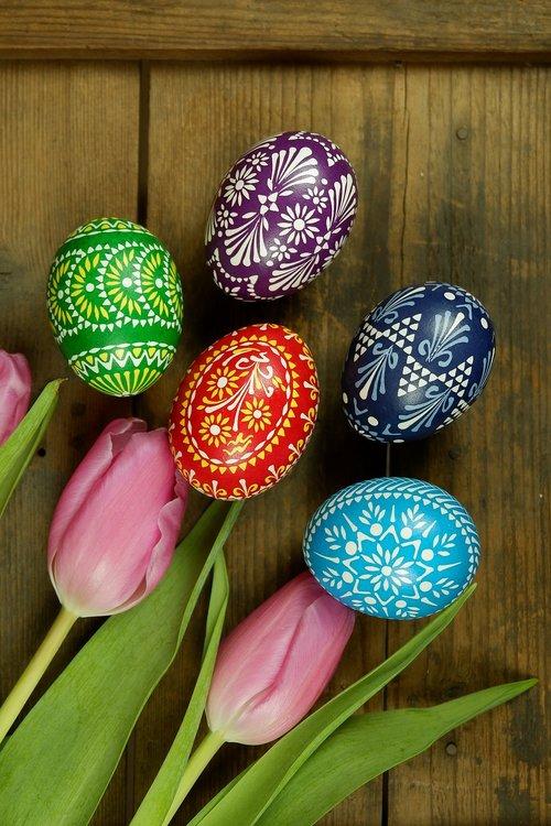 sorbian easter eggs  sorbian easter egg  spring