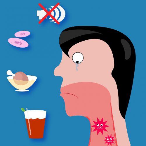 sore throat pain