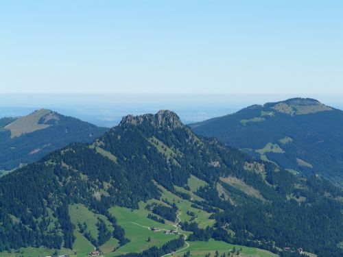 sorg schrofen mountain summit