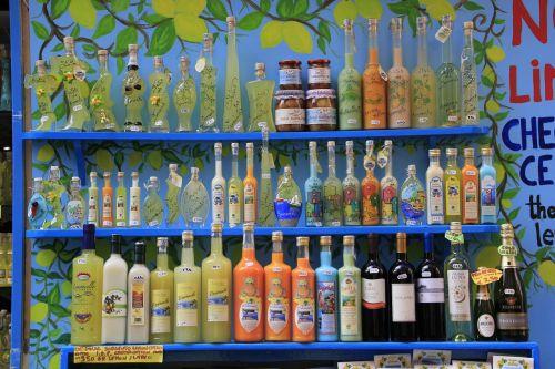 sorrento bottles limoncello