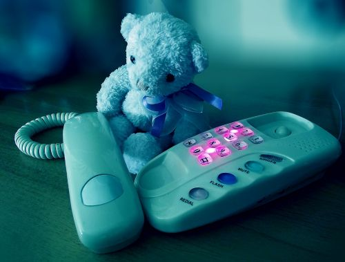 sorrow phone sad bear