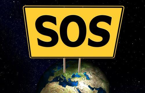 sos earth globe