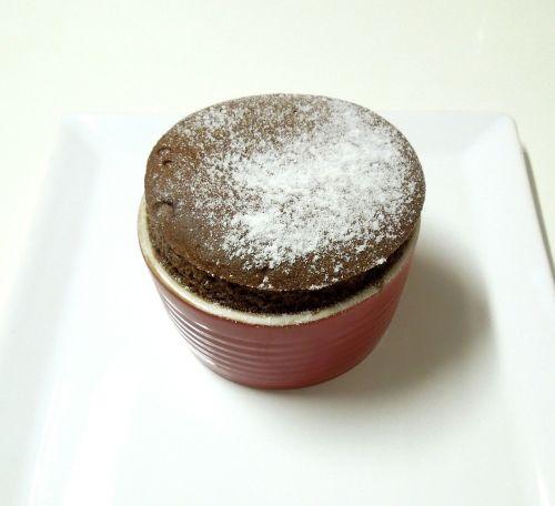 soufflé sweet chocolate