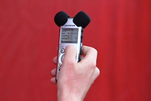 sound micro sound recording
