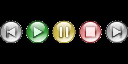sound button glossy