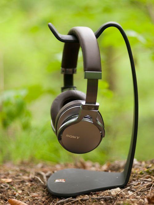 sound headphone music
