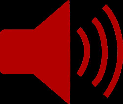 sound megaphone announcement