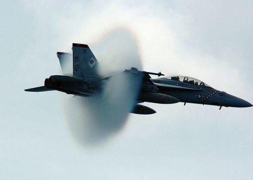 sound barrier navy jet supersonic