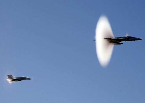 sound barrier navy jets supersonic