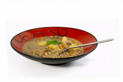 soup stew plate