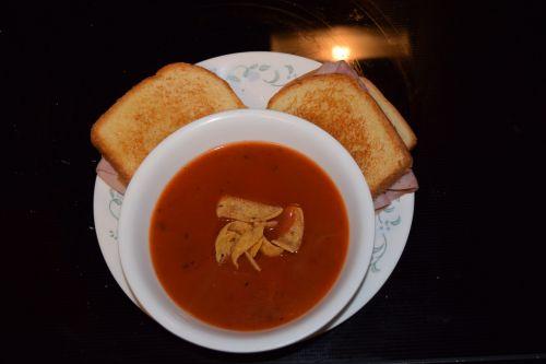soup sandwich food