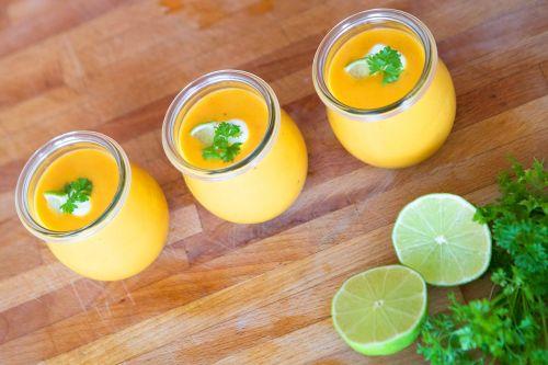 soup yam lime