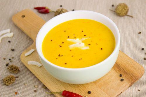 soup pumpkin coconut