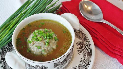 soup liver dumplings liver dumpling soup