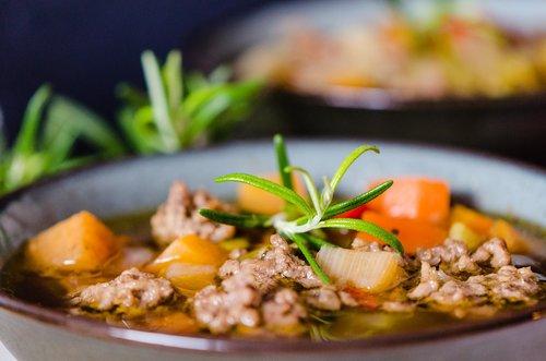soup  minced meat soup  minced