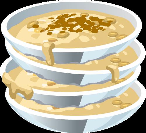 soup food bowls